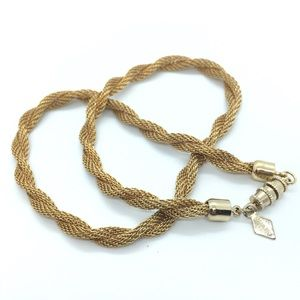 SARAH COVENTRY Gold Twist Necklace